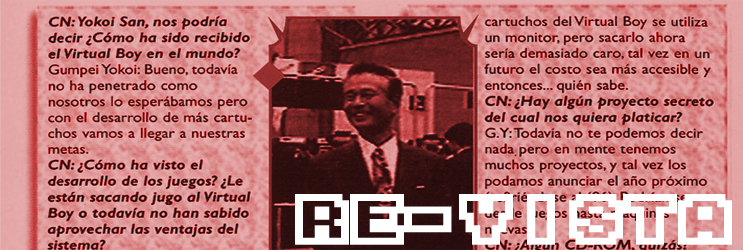 [Re-Vista] Club Nintendo 43 1996: Gumpei Yokoi en El Control de las Celebridades