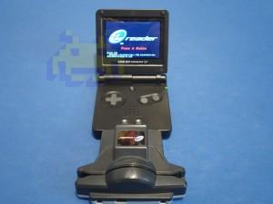 Nintendo e-Reader y GBA SP