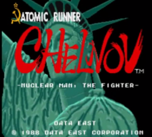 [Arcade Retro] Atomic Runner Chelnov