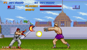 Street Fighter I Ryu vs Sagat
